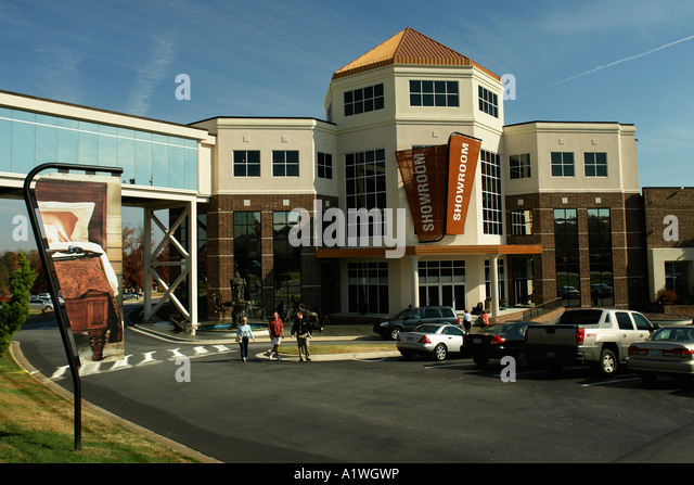 AJD54545, High Point, NC, North Carolina, Furnitureland South   Stock Image
