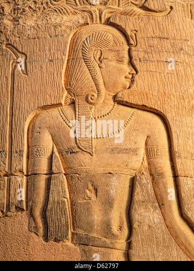Stone egypt esna stock photos