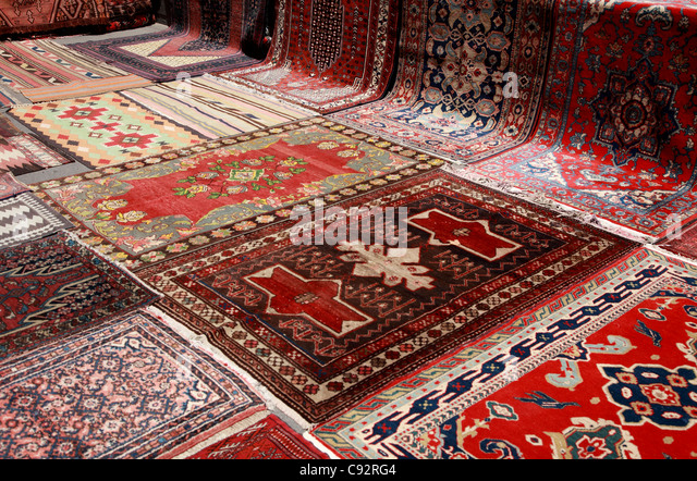 Perfect Yerevan Is A Centre For The Trading Of Handmade Knotted Woollen Woven Rugs  In Bright Colours