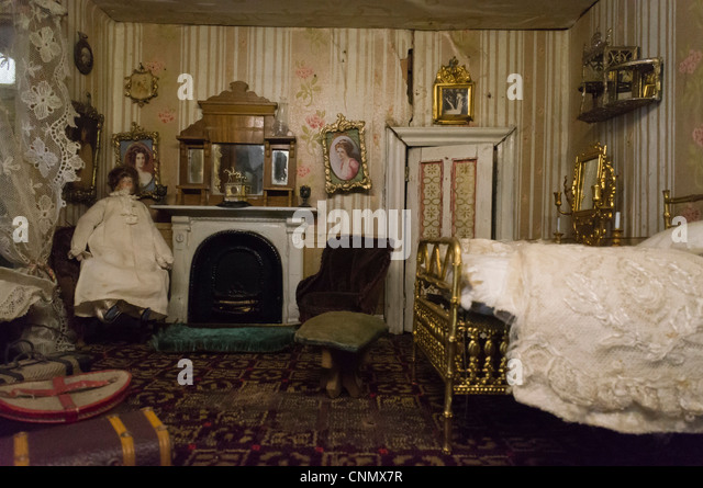 Victorian style old doll s house interior   Stock ImageVictorian Dolls House Stock Photos   Victorian Dolls House Stock  . Dolls House Interiors. Home Design Ideas
