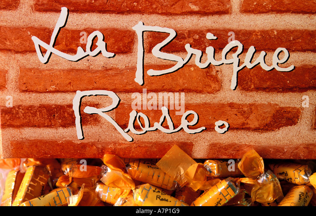 Fabuleux France Haute Garonne Toulouse Candy Stock Photos & France Haute  PR57