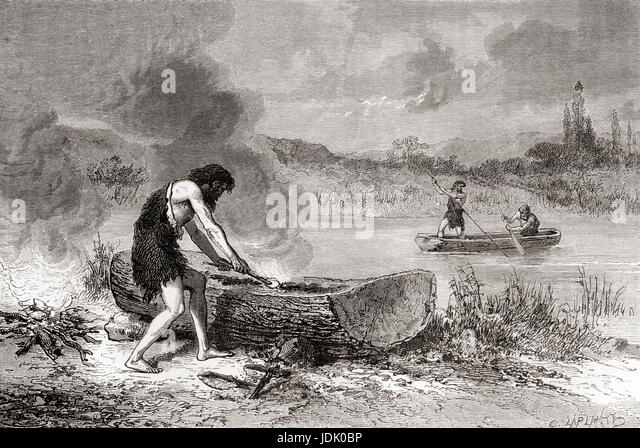 Stone Age Prehistoric Men Stock Photos Stone Age