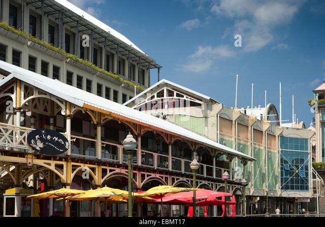 Mauritius port louis shopping stock photos mauritius - Restaurants in port louis mauritius ...