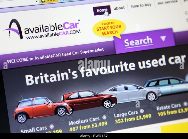 Used Car Dealer Stock Photos & Used Car Dealer Stock