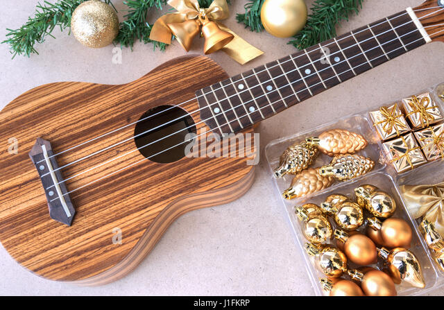 Christmas hawaii stock photos christmas hawaii stock for Decoration ukulele