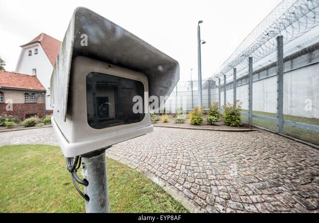 Security camera fence stock photos security camera fence for Interior home security cameras
