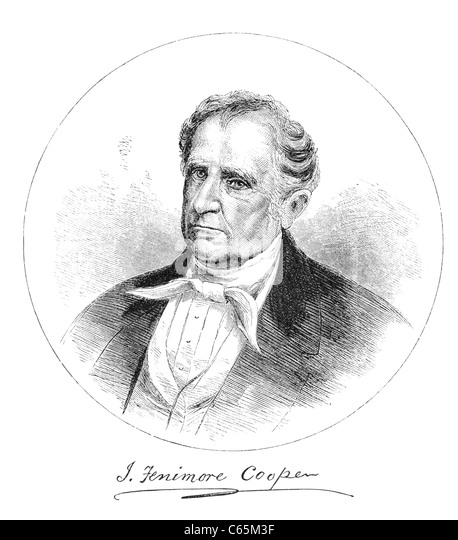 a biography of james fenimore cooper a writer James fenimore cooper (1789-1851) invented the key forms of american   furthermore, cooper turned novel writing from a polite diversion into a paying  career  cooper's life, as franklin relates it, is the story of how, in literature and.