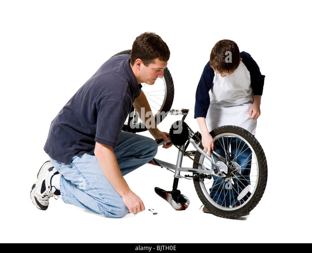 how to fix body to bike