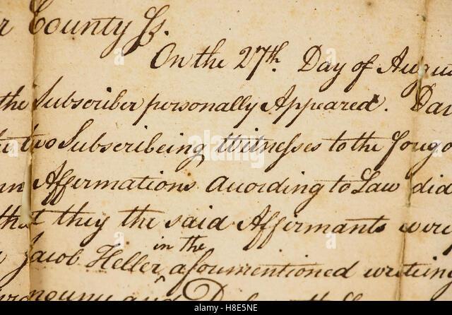 Parchment paper writing