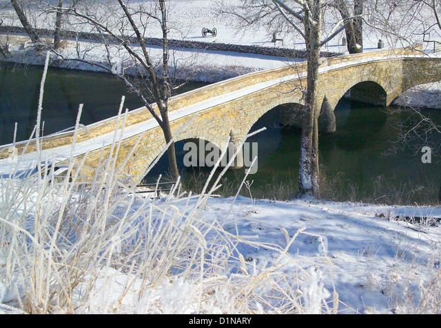 Antietam national battlefield bridge