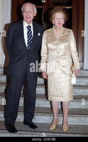Thatcher Golden Wedding Anniversary
