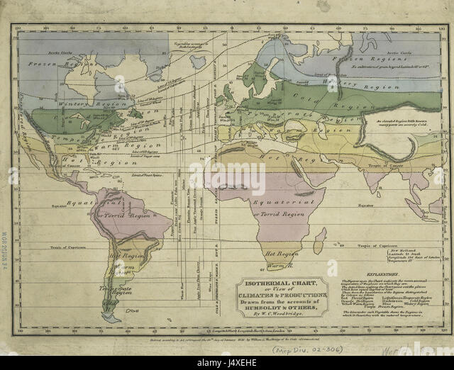 Isothermal Map Stock Photos Isothermal Map Stock Images Alamy - Isothermal map of us