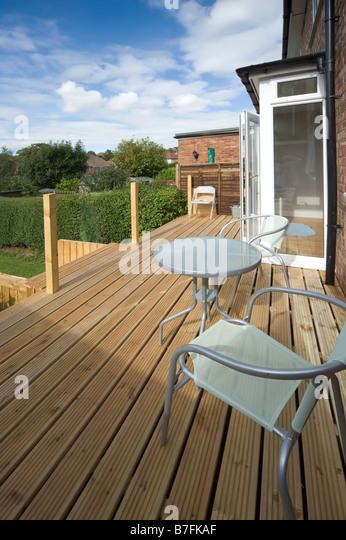 Decking garden stock photos decking garden stock images for Garden decking maidstone