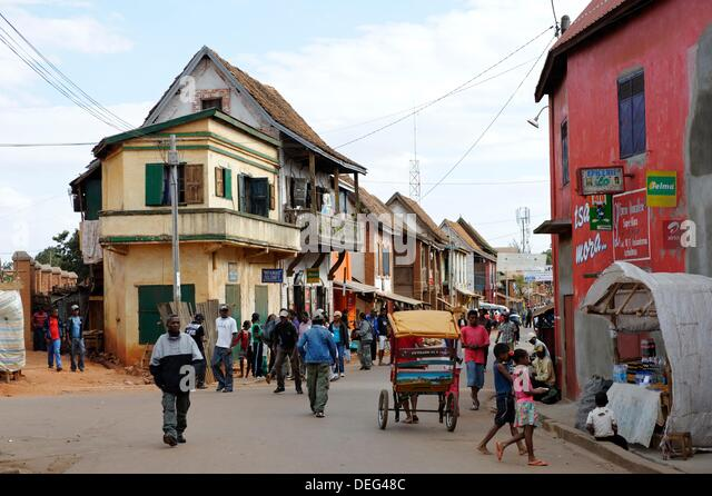 Image result for Photos of the streets of Madagascar