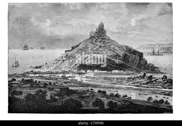 Mounts Bay Black And White Stock Photos Amp Images Alamy