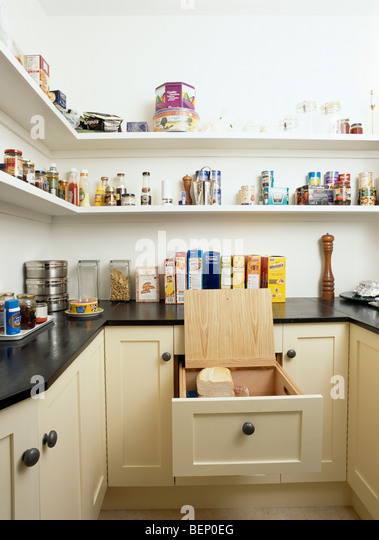 Open lidded stock photos open lidded stock images alamy for Fitted kitchen drawer unit
