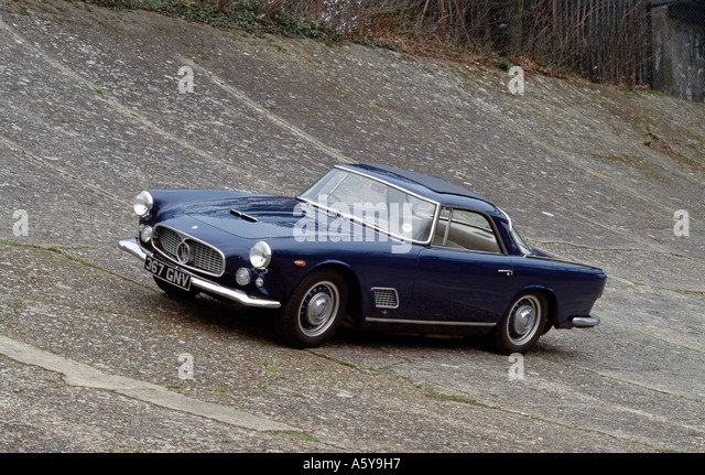 maserati 3500gt coupe of 1960 built 1957 to 1964 stock image