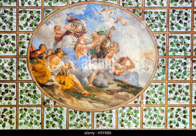 Ceiling mural stock photos ceiling mural stock images for Decor mural underground