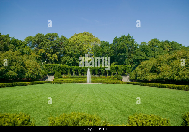Conservatory Garden, Central Park   Stock Image