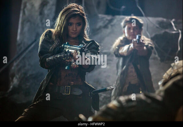 Resident Evil The Final Chapter Premiere In: Resident Evil Film Stock Photos & Resident Evil Film Stock