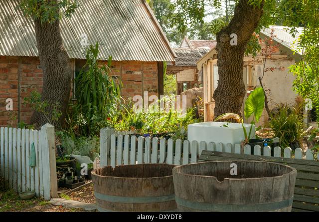 Garden At Montsalvat, Eltham, Victoria, Australia   Stock Image