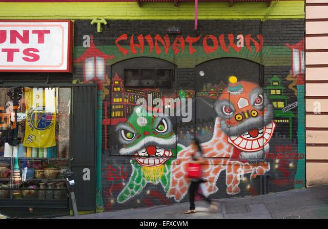 Mural chinatown stock photos mural chinatown stock for Chinatown mural chicago