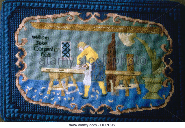 Embroidery church of england stock photos