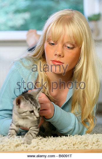 girl girl stroking