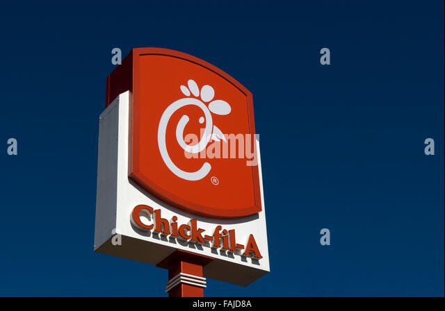 Chick Fil A Sign National Chain Stock Photos Chick Fil A Sign