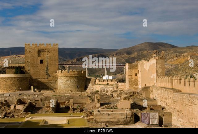 Spanish Castle Ruins Stock Photos & Spanish Castle Ruins Stock Images - A...