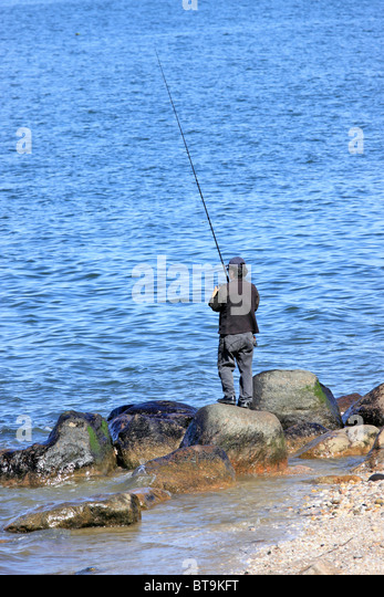 Surf Casting Stock Photos Surf Casting Stock Images Alamy