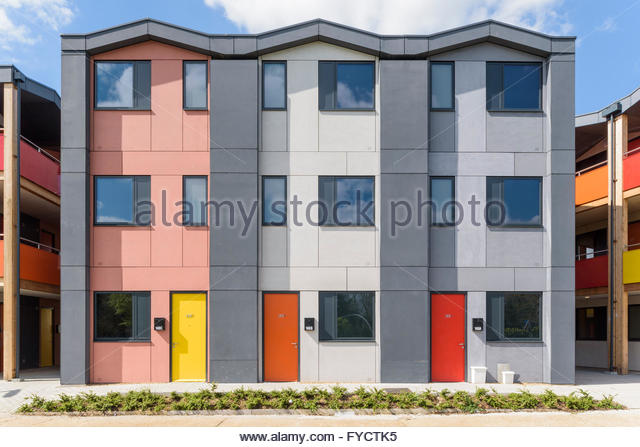 Edmonds Court Foyer Small Heath : Mitcham stock photos images alamy
