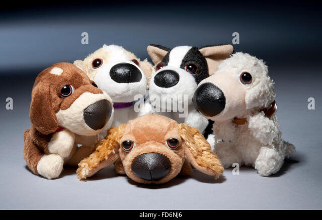 Group Toy Dogs : Mcdonald s toy stock photos images