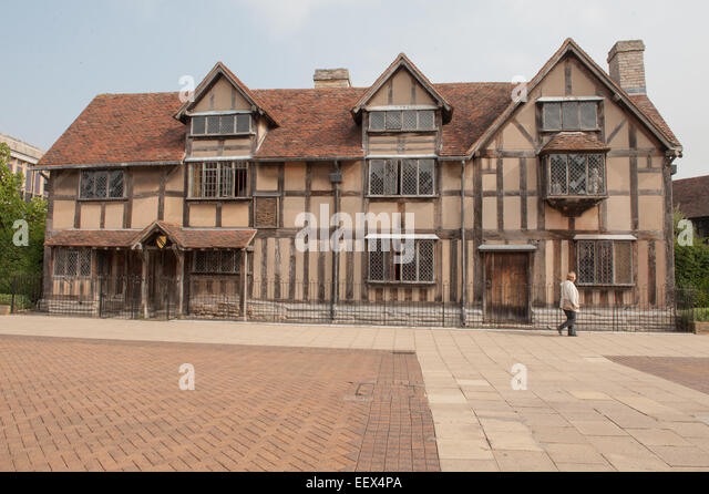 a look at the birthplace of william shakespeare an english playwright English dramatist and poet the english playwright, poet, and actor william shakespeare was a popular dramatist he was born six years after queen elizabeth i (1533–1603) ascended the throne, in the height of the english renaissance.