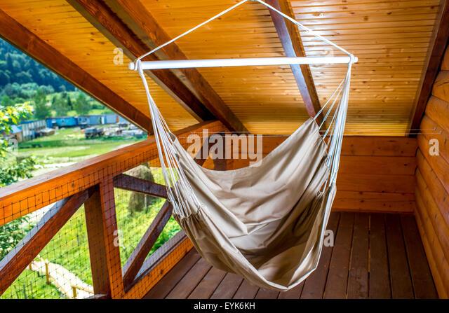 Hammock garden nobody stock photos hammock garden nobody for Balcony hammock