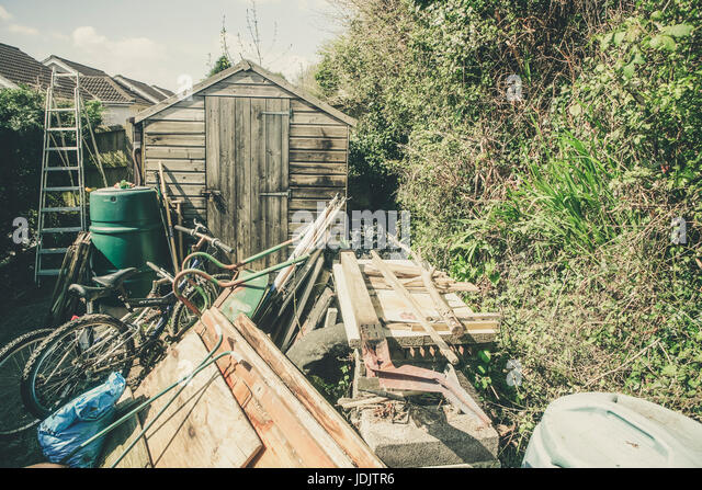 Derelict Garden Shed Stock Photos Derelict Garden Shed Stock Images Alamy