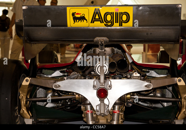 Ferrari F1 Engine   Stock Image