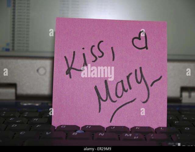 woman kiss laptop stock photos woman kiss laptop stock. Black Bedroom Furniture Sets. Home Design Ideas
