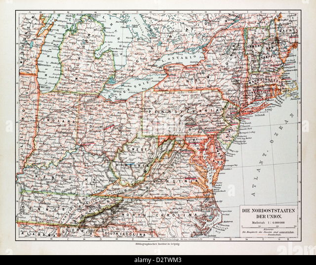United States Of America Map Stock Photos  United States Of