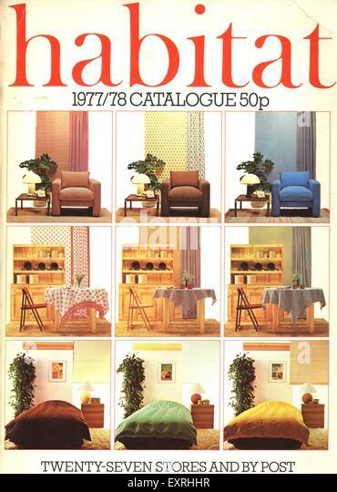 Uk 1977 stock photos uk 1977 stock images alamy for Catalogue habitat 2017