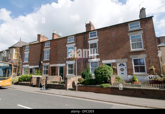 Terrace houses house homes home stock photos terrace for English terrace