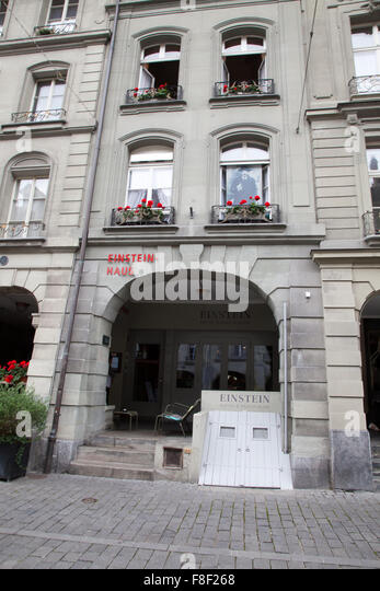 Einsteinhaus Stock Photos & Einsteinhaus Stock Images - Alamy