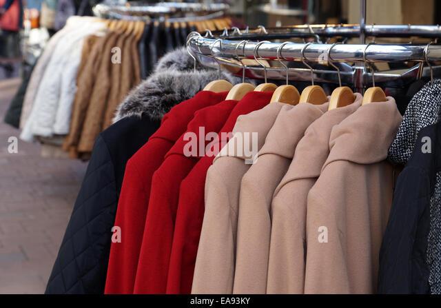 Winter Coats Store Stock Photos & Winter Coats Store Stock Images ...