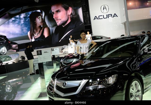 Acura stock photos acura stock images alamy for Honda motor company stock