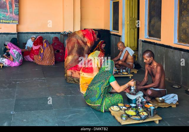 Digambara Monks Jain Monks Stock Photo...