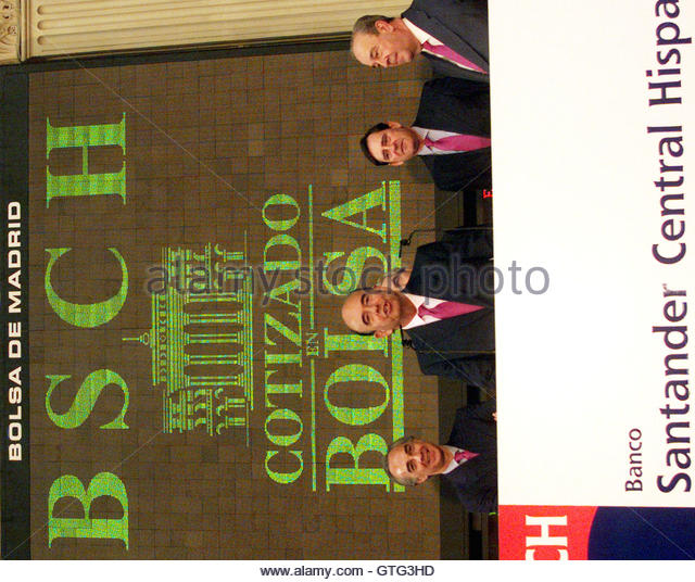 Emilio botin l stock photos emilio botin l stock images for Banco santander oficina central madrid