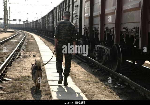 Russian border control