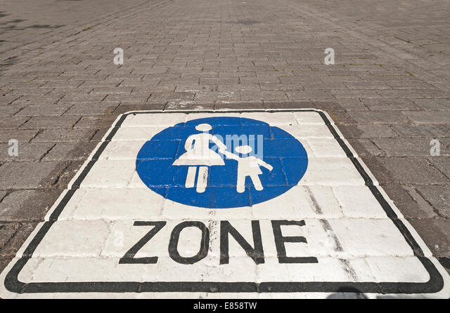pedestrian zone and - photo #11