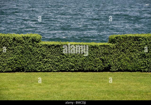 Italian Garden Hedges Lawn Stock Photos Italian Garden Hedges