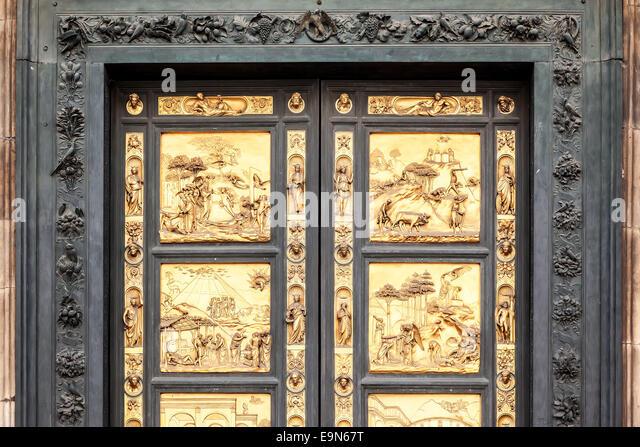 Golden Door in Florence - Stock Image & Golden Door Stock Photos \u0026 Golden Door Stock Images - Alamy Pezcame.Com